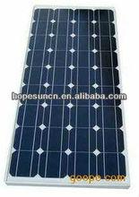 Top supplier high efficiency mono solar panel 100W