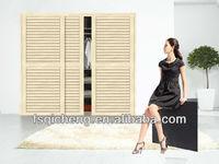 Wood wardrobe Sliding Door