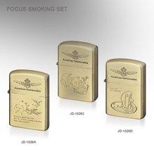 lighter metal cigarette oil lighter