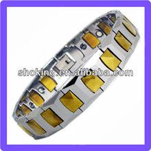 Beautiful High Polish High Gauss Magnetic Bracelet Highly Scratch Resistant Lovers Bracelet