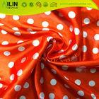 100 polyester satin dress printed satin fabrics