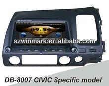 2 din 8 inch Specific Car DVD GPS with IPOD, Bluetooth,Radio, ATV, ATSC, STEERING WHEEL CONTROL,etc.