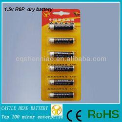 China R6 aa battery