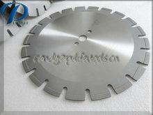 Cutting concrete asphalt and stone diamond blade tool