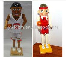 Custom basketball player nutcracker christmas decoration wholesale
