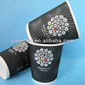 ripple copo de papel para o café cappuccino