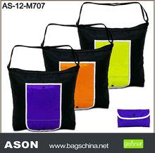 210D polyester foldable shopping bag
