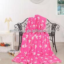 New design shell print fleece quilt