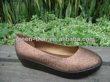 Bronze glitter wholesale platform shoes