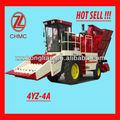 4 tractor filas cosechadora de maíz