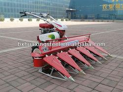 self-propelled paddy crop cutting machine