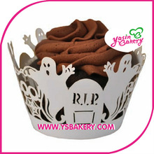 Halloween Ghost Cup Cake Wrappers