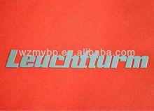 Nickel Company logo making,metal sticker