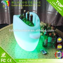 led ice Buckets PE plastic wine cooler 220v