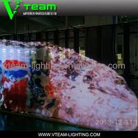 alibaba hot sale flexible led x vedio stage rental display