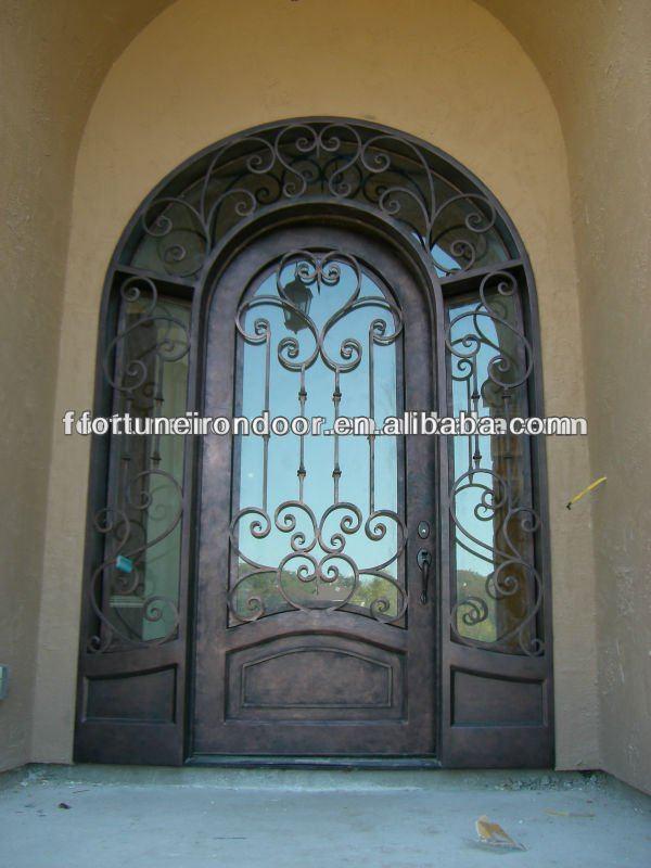 Forjado puertas exteriores de hierro para casas por en la for Puertas de fierro para casas exterior