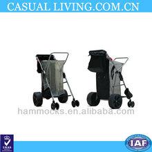 HOT The new big wheels aluminum beach cart
