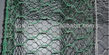hexagonal netting extensions for basketball court