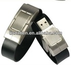 Leather Wristband USB, Wristband Watch Bracelet USB