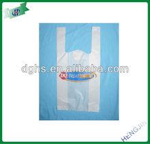 t-shirt bag for cloth shop/new fashioned t-shirt bag/ logo printed t-shirt bags