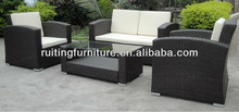 S-1079 2012 KD Rattan Furniture Leisure Sofa Set