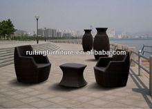 O-9049 Outdoor Furniture Rattan Sofa