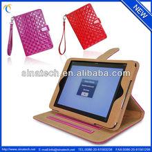 2013 new products for ipad mini case,shiny leather case for ipad mini