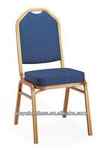 Popular hot design aluminium banquet chair XA144
