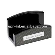 Custom Made Design Carbon Fiber Business Name Card Holder