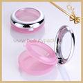 rosa bonito cosméticos embalagem