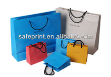 newest customized wholesale paper gift bag