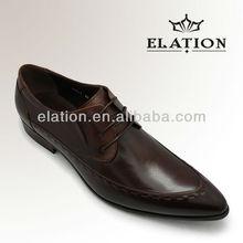 fashionable men leather dress shoes