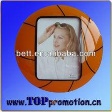basketball shape photo frame