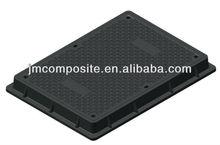 JM-MS209B 600X450mm composite B125 manhole cover and frame