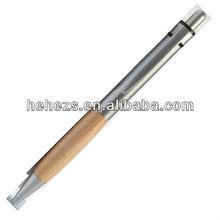 environmental bamboo promotional metal ball pen