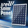 PV panel 120W high Efficiency 160w mono Crystalline Silicon Solar panel