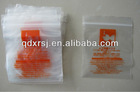 ldpe reclosable poly zipper bags