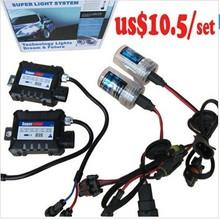 Hot sale!!! 35W HID kit, h4 hi/lo xenon kits , 12v dc slim ballast kit