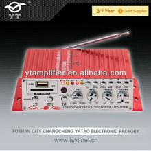 LED display+Mini USB/SD+tube Amplifier for car YT-V10