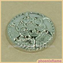 a ball flower shank button
