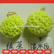 2015 promotional Latex free mesh bath sponge
