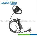 Un cable D en forma de walkie talkie auricular para Motorola MTP850