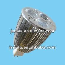 Highpower MR16 3*2W GX5.3 12V AC/DC LED spotlight bulb