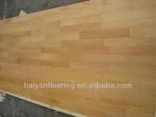3 layers beech engineered hardwood/wood floor