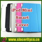 2014 New Smart Cover for iPad Mini 2 iPad mini 3 Magnetic Sleep Wake up leather front cover