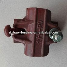 italian type painted swivel clamp