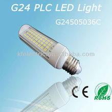 High power led square led downlights G24 E27base