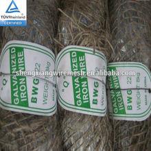 galvanized Tie wire BWG 22 8KG Roll 0.73mm for Saudi Arabia