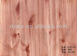 wood grain transfer film for aluminium profile decoration