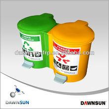 frp foot pedal dustbin/home appliance furniture/garden